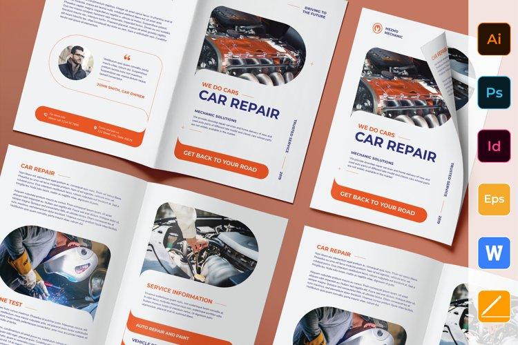 Car Repair Brochure Bifold example image 1
