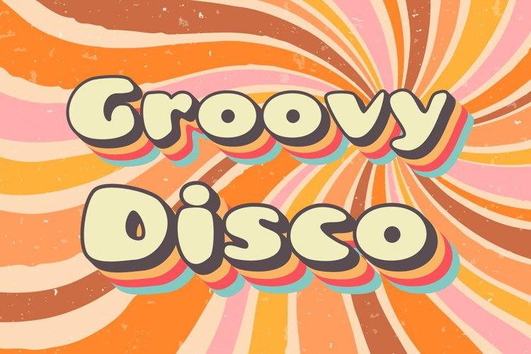 Groovy Disco 70s Font