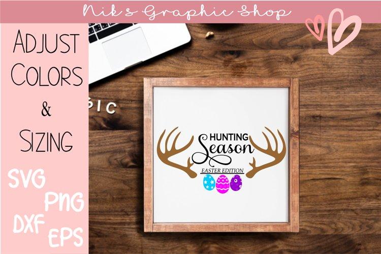 Easter svg, hunting season svg, easter hunt svg
