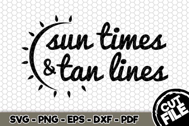 Sun Times Tan Lines Svg Cut File N215 482962 Svgs Design Bundles