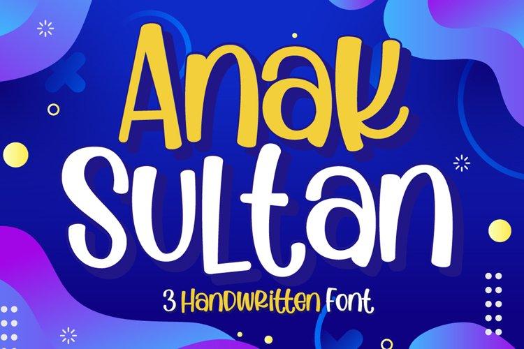 Anak Sultan example image 1