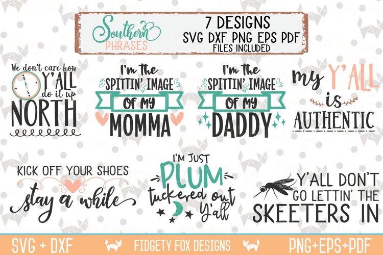 Southern Phrases Svg Bundle DXF PNG EPS PDF Rustic Design