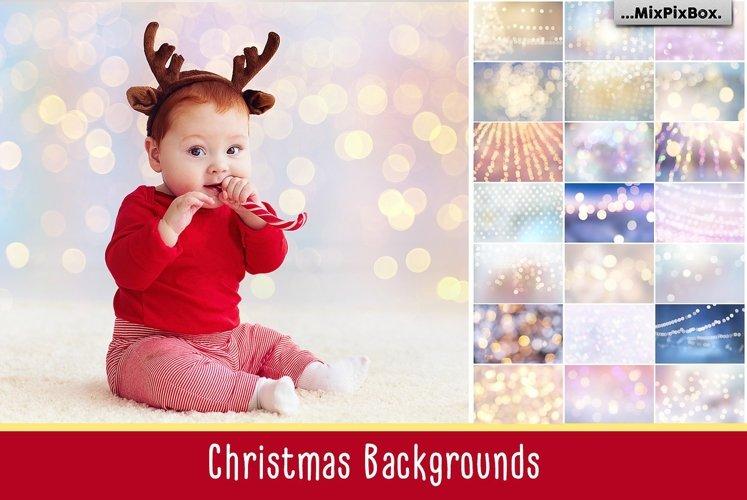 Christmas Backgrounds example image 1