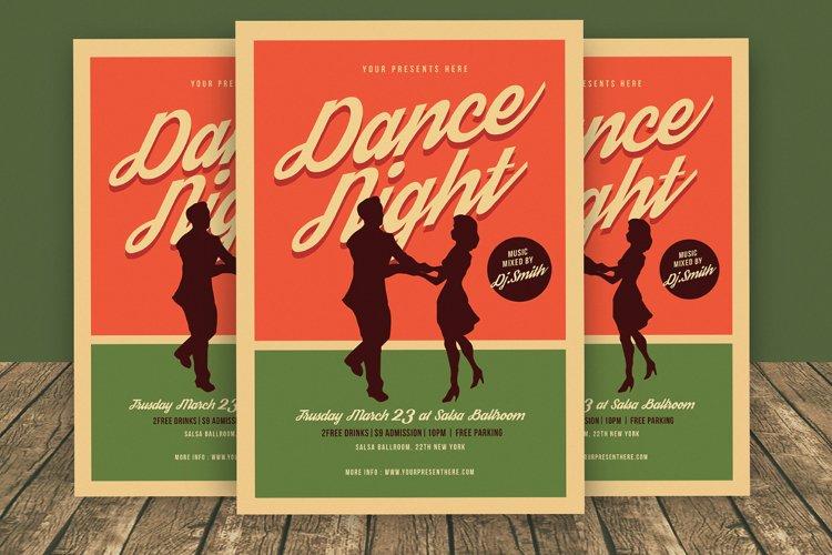 Dance Night Flyer example image 1
