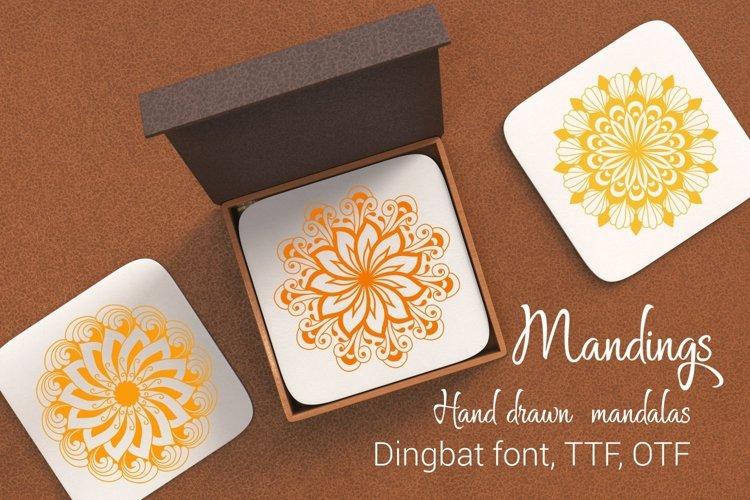 Mandings font