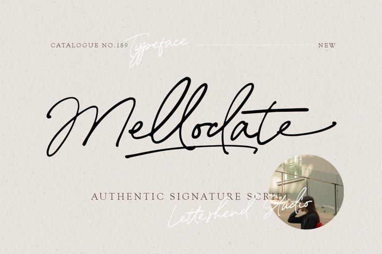 Mellodate - Signature Script example image 1