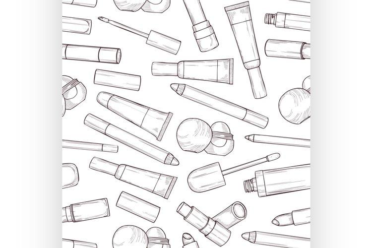Hand drawn lip gloss example image 1