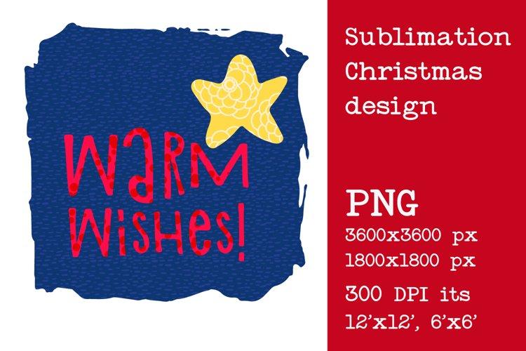 Sublimation Christmas design example image 1