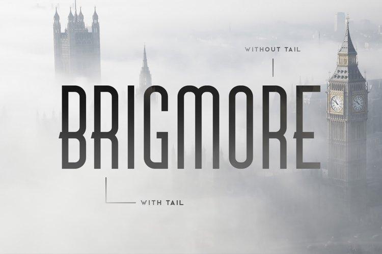 Brigmore Typeface example image 1