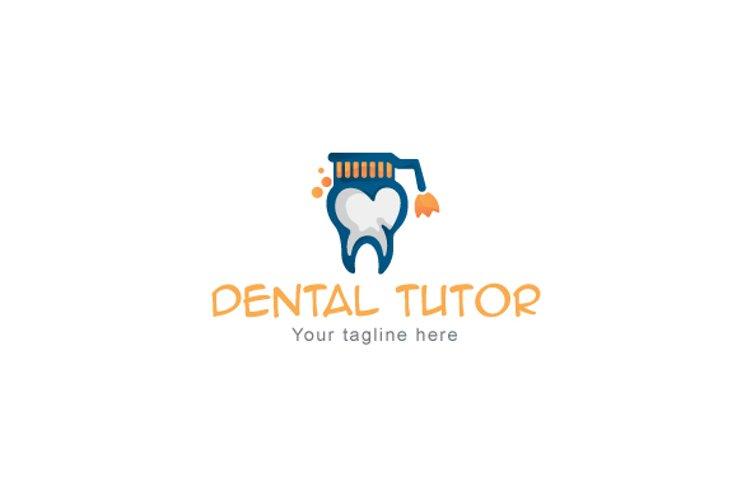Dental Tutor - Intellectual Stock Logo Template example image 1