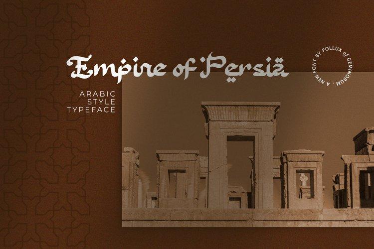 Empire of Persia example image 1