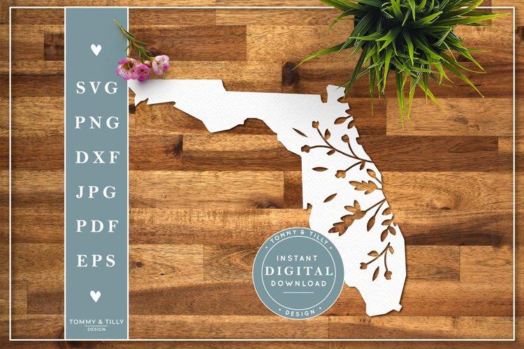 Florida State Cut File Papercut Template Svg 291155 Svgs Design Bundles