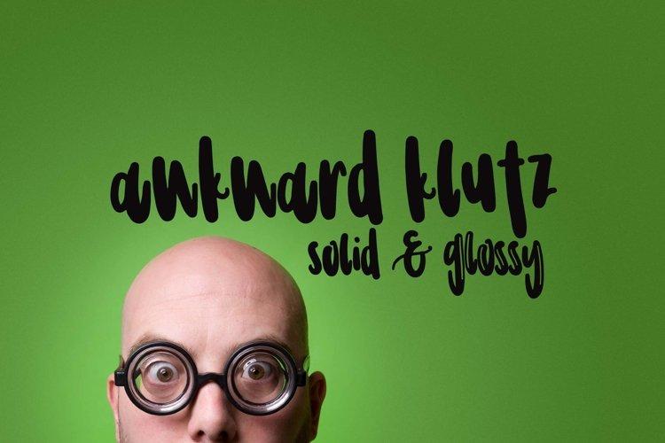 Awkward Klutz example image 1
