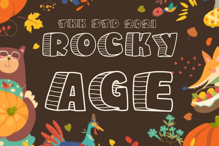 Rocky Age - Kids Font example image 1