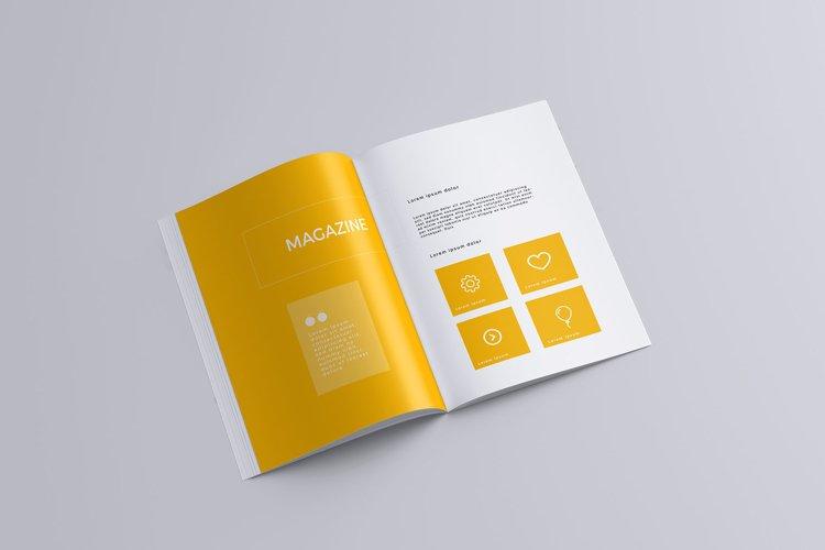 Magazine A4 Mock-Up example image 1