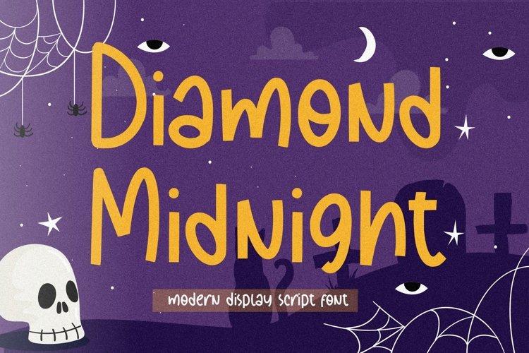 Diamond Midnight Modern Display Script Font example image 1