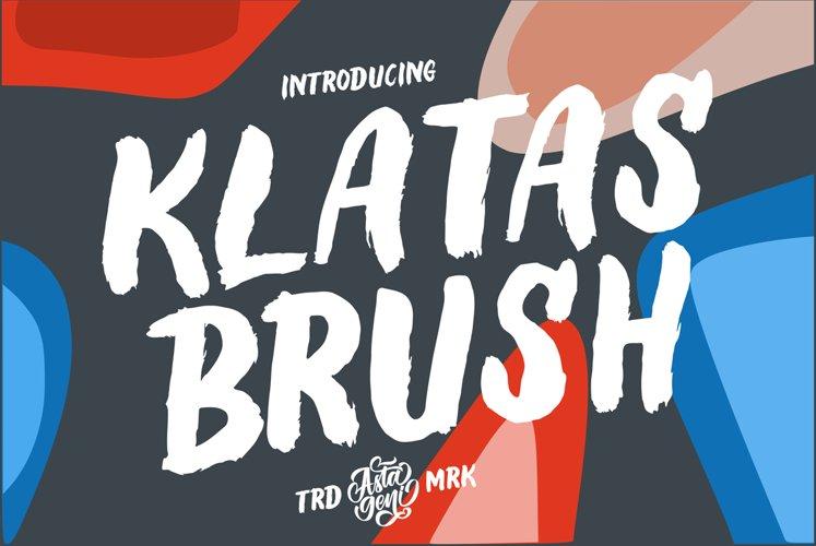 Klatas Brush example image 1