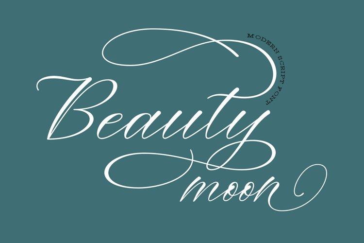 Beauty Moon Script example image 1