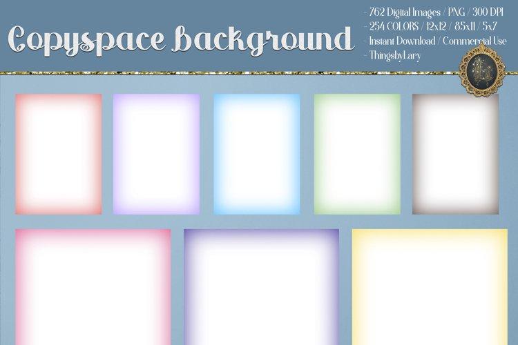 Copyspace Background Ombre Background 12x12 8.5x11 5x7