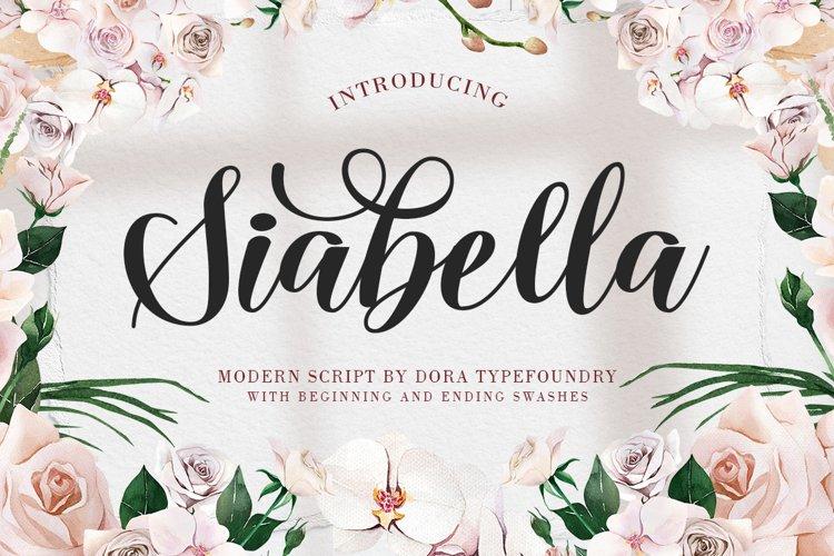 Siabella Script example image 1