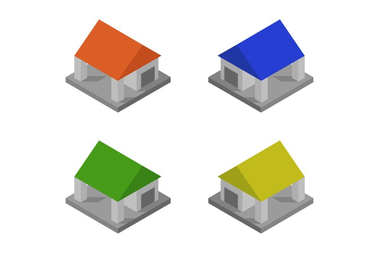 isometric garage example image 1