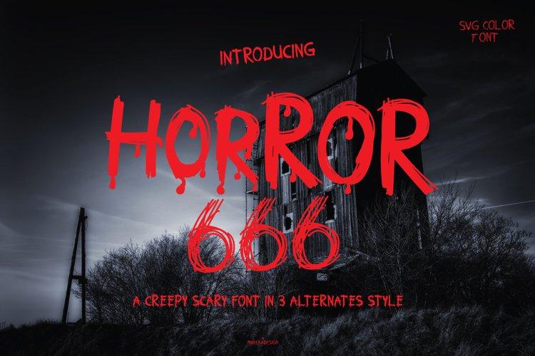 HORROR 666 example image 1