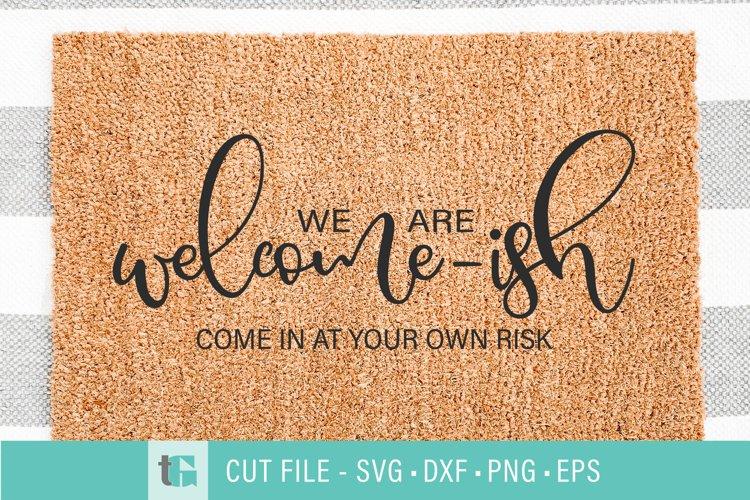 Welcome-ish Doormat SVG - Welcome mat svg