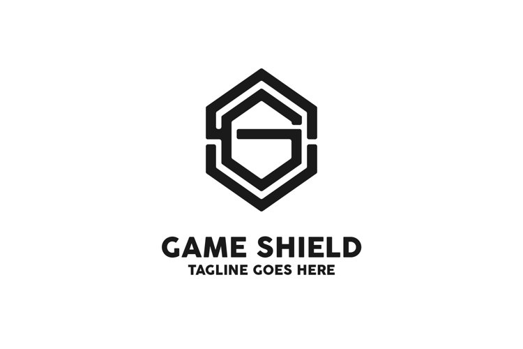 Game Shield Logo example image 1
