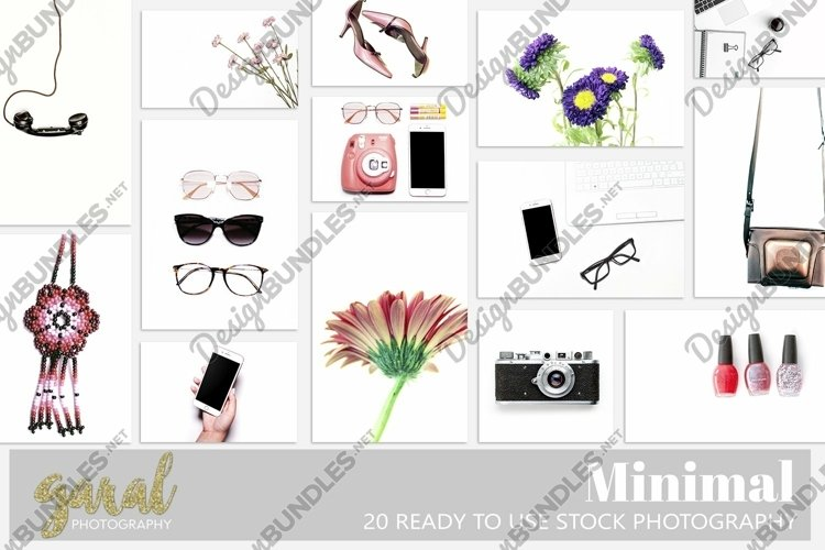 Minimal Bundle, 20 High Quality Stock Photos