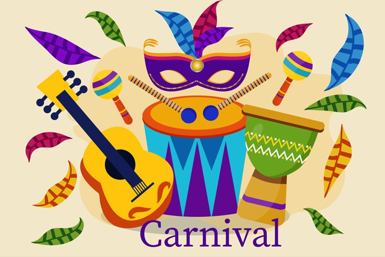 Carnival Party Illustration example image 1