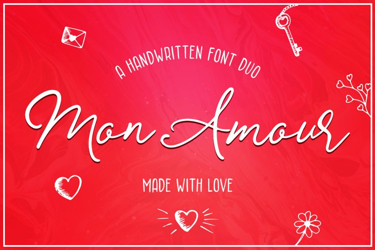 Mon Amour Font Duo example image 1