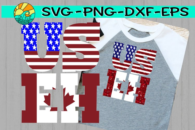 US EH - USA - Canada - SVG PNG EPS DXF
