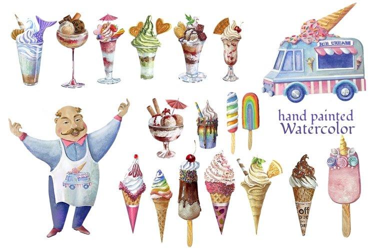 Ise cream clipart,dessert clip art example image 1