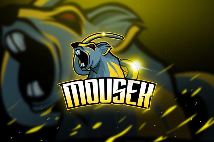 Mousekz - Mascot & Logo Esport example image 1