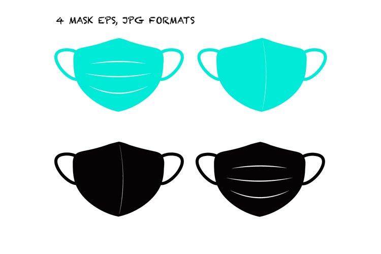 Medical mask example image 1