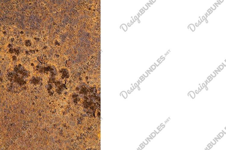 very rusty orange metal surface example image 1