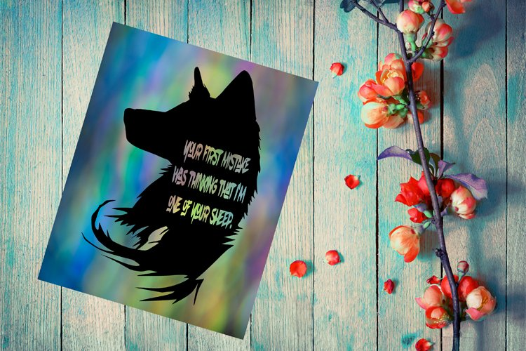 Wolf SVG, Wolf Cricut, Quote Wolf Papercut Template