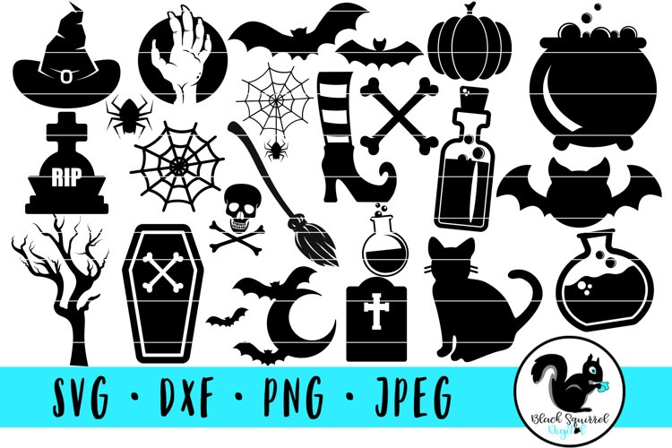 Halloween Spooky Graphic SVG Bundle example image 1