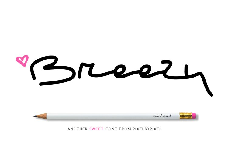 Breezy Freestyle Font example image 1