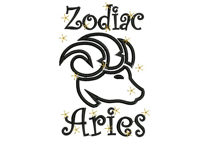 Aries machine embroidery designs