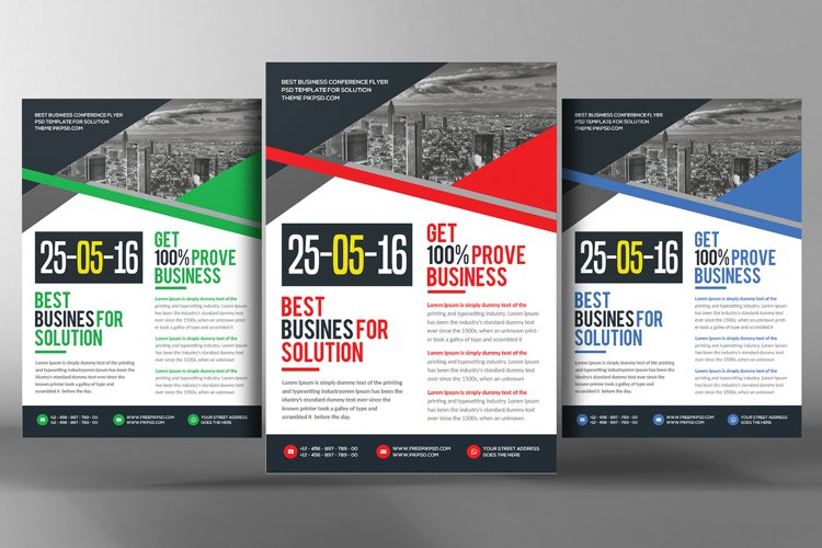 Business Essentials Corporate Flyers example image 1