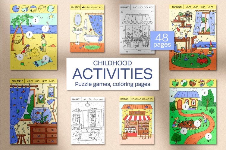 Childhood. Activities for kids. example image 1