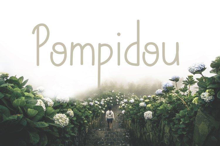 Pompidou   Sans Serif with Extras