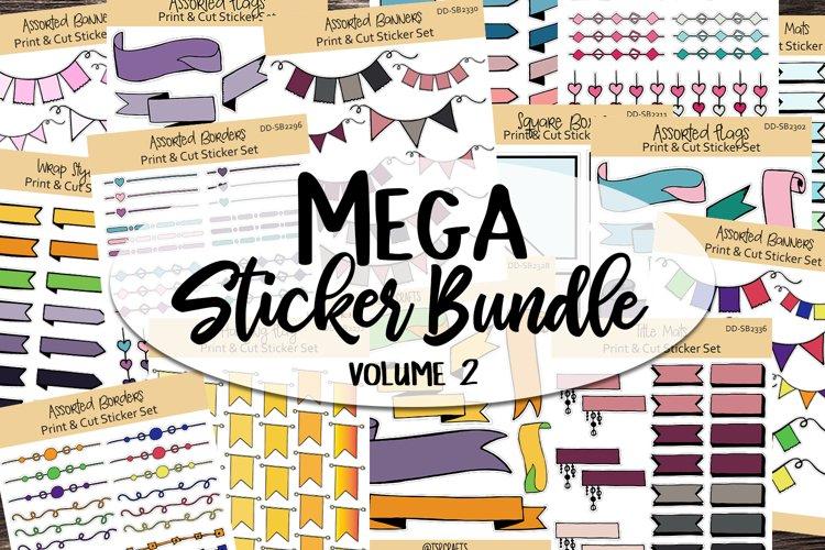 Sticker Bundle #2 - Mega Printable & Digital sticker bundle