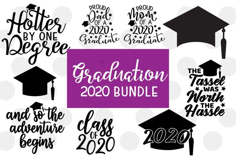 Graduation 2020 SVG Bundle - 9 Graduation SVGs example image 1