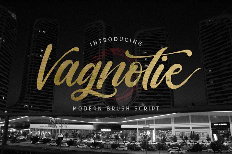Vagnotie - Modern Brush Font example image 1