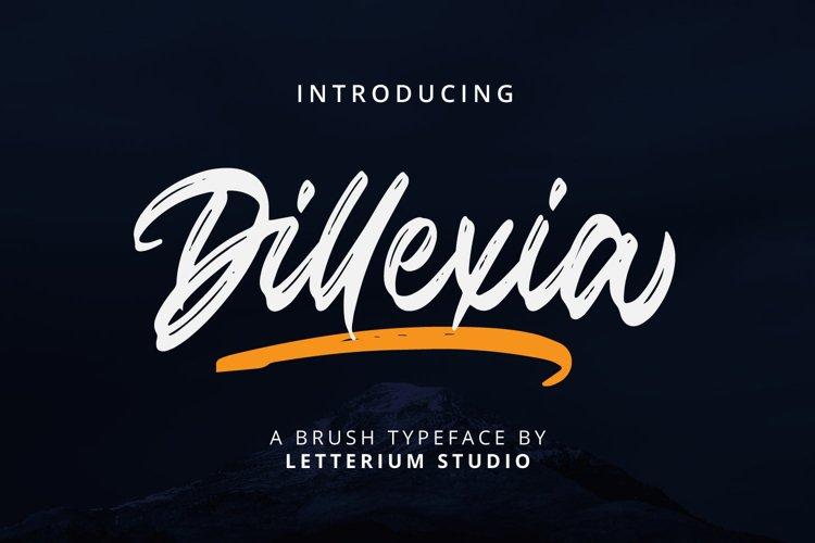 Dillexia - Brush Script example image 1