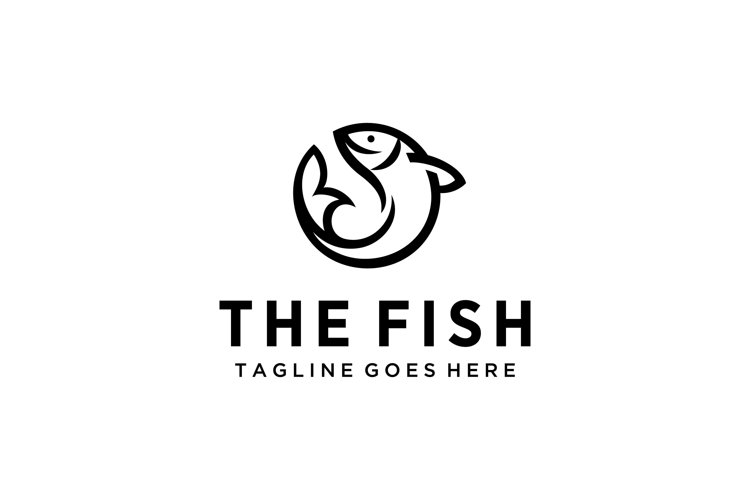 fish water logo example image 1