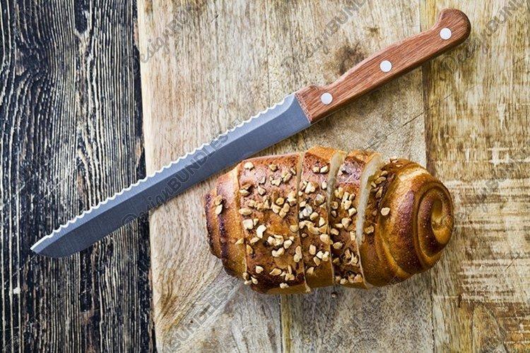a wheat flour bun example image 1