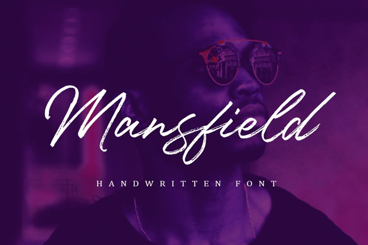 Mansfield Font example image 1